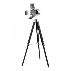 Lampadar metal, 140cm H x 71cm W x 56.5cm D