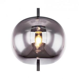 Lustra tip pendul Blacky IV, metal/sticla, 30 x 120 x 30 cm