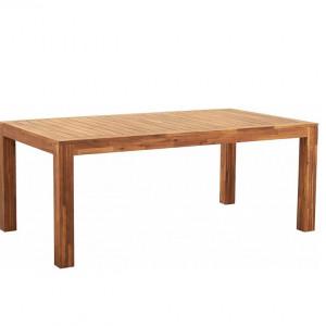 Masa de gradina Monsano, lemn salcam, 105 x 76 x 190 cm