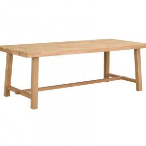 Masa extensibila Brooklyn din lemn masiv, 220x75x95 cm
