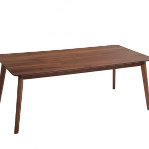 Masa MADOX, lemn/MDF, maro, 75 x 100 x 200 cm