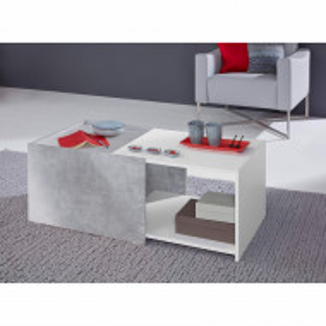 Masuta de cafea Pawling PAL decor beton/alb