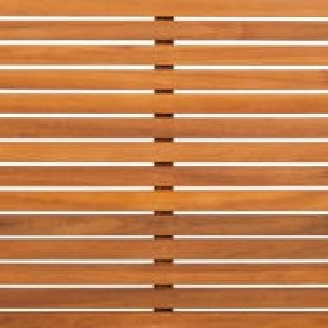 Masuta Lexi, lemn masiv de salcam/tesatura, maro/alb, 60 x 28 x 60 cm