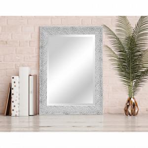 Oglinda Wevok  - argintie - 70 cm