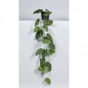 Planta artificiala Monstera, in ghiveci, verde, 115 x 30 x 30 cm