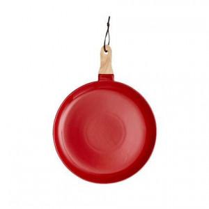 Platou de servire Classico cu mâner, roșu