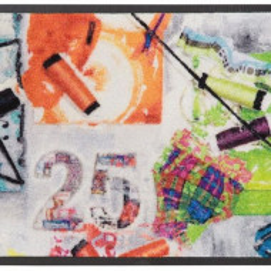 Pres de intrare Akai by Bruno Banani, 50 x 75 cm, multicolor