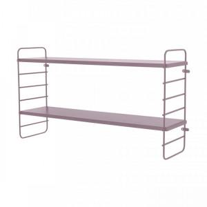 Raft Kimi, roz, 65 x 35 x 15 cm