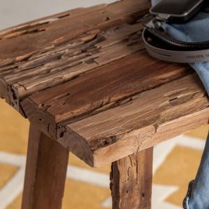 Scaun de bar Le Touquet din lemn masiv reciclat