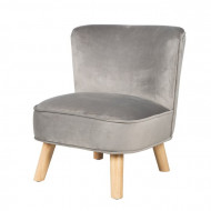 Scaun pentru copii, gri, 50 x 44 x 48 cm