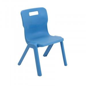 Scaun pentru copii Kristen, albastru, 69 x 43,5 x 40,8 cm