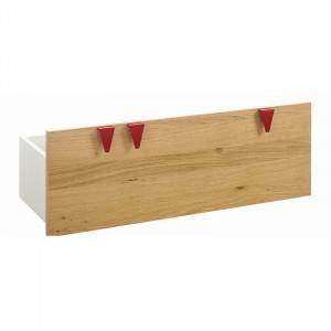 Sertar pentru depozitare jucarii Minimo, MDF, maro, 33 x 90 x 36 cm