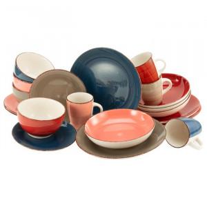 Serviciu combinat Bella Casa, 20 piese, ceramica