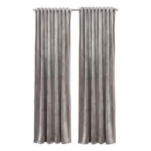 Set de 2 draperii Simone gri, 140x300 cm