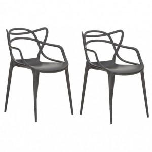 Set de 2 scaune Masters 57 x 84 x 47 cm