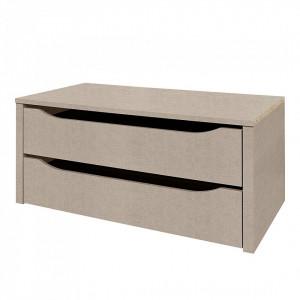 Set de 2 sertare pentru dressing pentru adâncimea dulapului de 57-62 cm