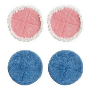 Set de 4 lavete de schimb pentru Powerglide albastru și roz