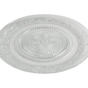 Set de 6 farfurii Imperial transparente