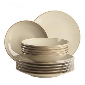 Set de veselă Abidin, 12 piese, ceramica