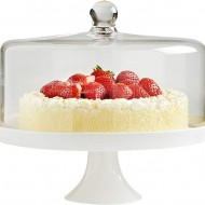 Suport pentru tort/prajituri ceramica/sticla VonShef