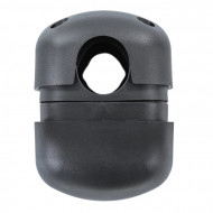 Suport pentru umbrela Maxi, negru, 10,8 x 10,8 x 17 cm