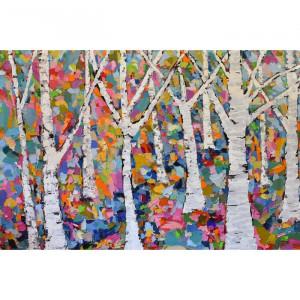 """Tablou """"Michelle Rivera"""", multicolor, 45 x 66 cm"""
