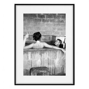 Tablou Steve Mcqueen e Neile Adams III, 30x40 cm
