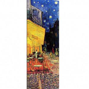 Tablou Vincent Van Gogh, panza, galben/albastru, 160 x 50 x 2 cm