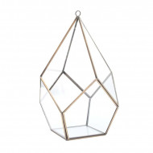 Terariu Abingdon din sticla, 25 x 16 cm