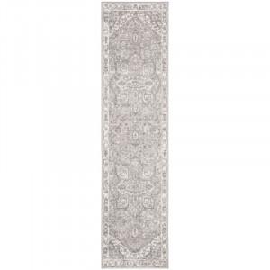 Traversa Westhampton, polipropilena, gri/crem, 62 x 240 cm