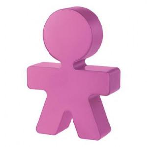 Veioză Girotondo roz, H 20cm