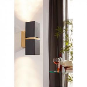Aplica LED Passa II maro/cupru