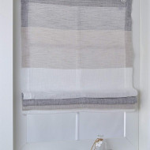 Perdea Marit gri/bej/alb  80 x 140 cm