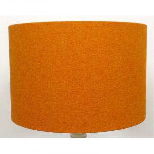 Abajur Pebble din bumbac, portocaliu, 45cm