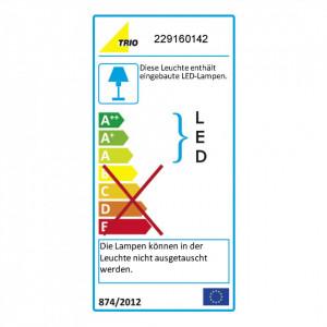 Aplica LED Tiber aluminiu/plastic, gri
