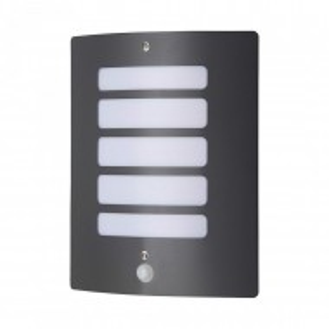 Aplica Todd metal/plastic, negru, 1 bec, dreptunghiulara, 230 V, 60 W