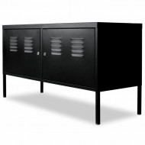 Comoda TV Industrial, metal, 118 x 60 x 40 cm