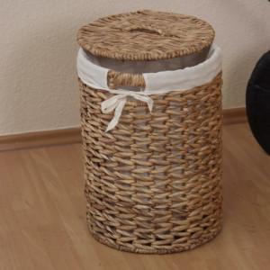 Cos pentru rufe, maro, 46 x 32 x 32 cm