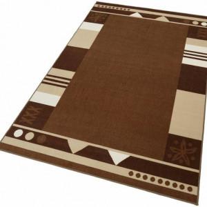 Covor Damm by Theko Exclusiv, 50 x 100 cm, ciocolatiu