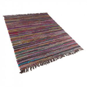 Covor Danca, bumbac, multicolor inchis, 160 x 230 cm