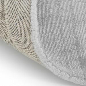 Covor din vascoza tesut manual Jane, 200 x 300 cm, gri