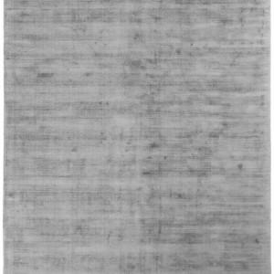 Covor din vascoza tesut manual Jane, 90 x 150 cm, gri inchis