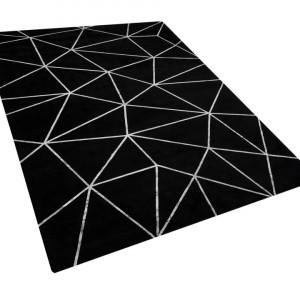Covor HAVZA, argintiu/negru, 160 x 230 cm