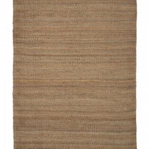 Covor, iuta, maro, 60 x 90 x 0,5 cm
