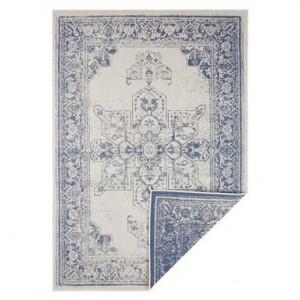 Covor Keno blu/crem, 200x290 cm