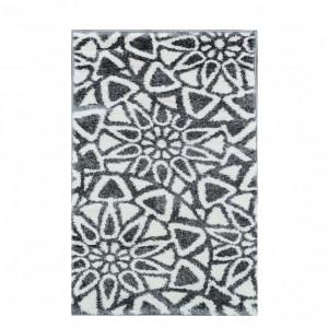 Covor Talea, gri/alb, 60 x 90 cm
