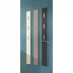 Cuier Colorado MDF/aluminiu, gri, 15 x 170 x 4 cm