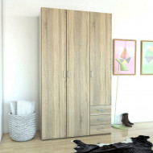 Dressing Casmin, maro, 115,8 x 49,5 x 200,4 cm