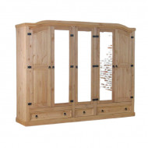 Dressing Myers, lemn masiv, 193 x 243 x 57 cm