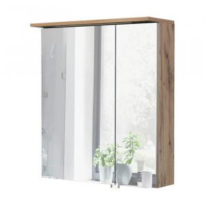 Dulap cu oglinda Renteria, iluminat, 72,5 x 60 x 16 cm